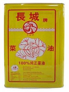 16kg 长城100%纯正菜油